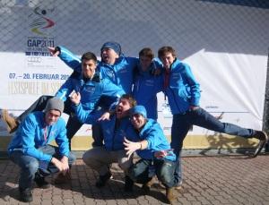 Die Pistenblogger bei der Ski-WM 2011. Quelle: Pistenblogger