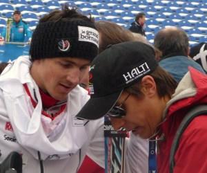 Philipp Pander und Steve Missilier. Quelle: Pistenblogger