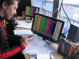 Unser Lieblings-Stadionsprecher Roman. Quelle: Pistenblogger