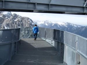 Aussichtsplattform mit Panoramablick.